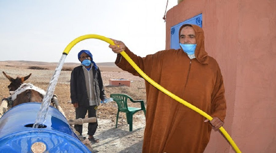المجمع الشريف للفوسفاط يساهم في تزويد ساكنة إقليم اليوسفية بالماء الشروب