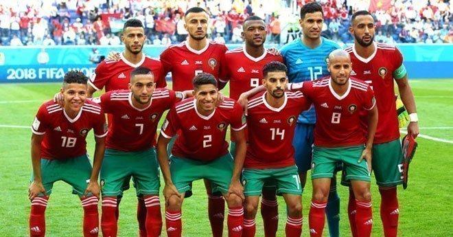 التشكيلة الرسمية للمنتخب الوطني المغربي ضد الكامرون