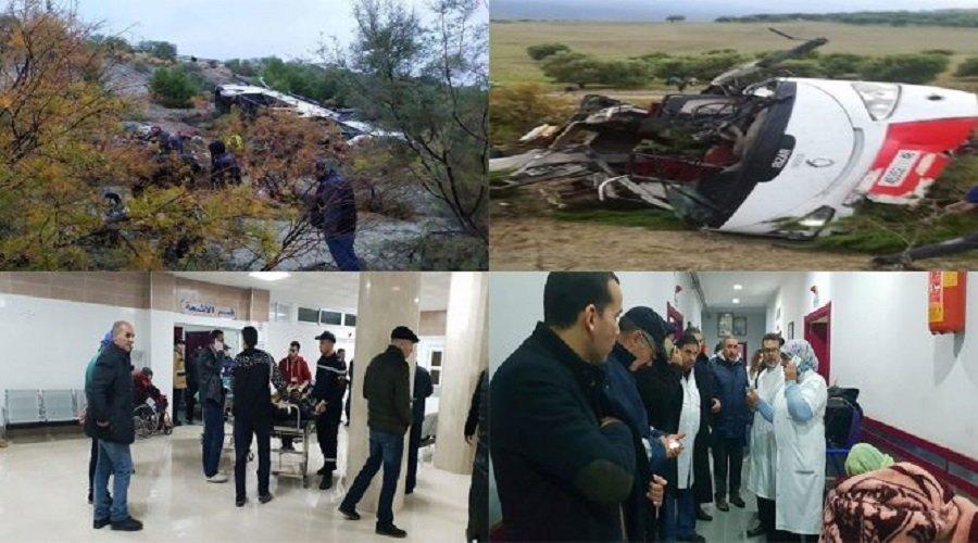ارتفاع حصيلة ضحايا فاجعة تازة إلى 17 قتيلا