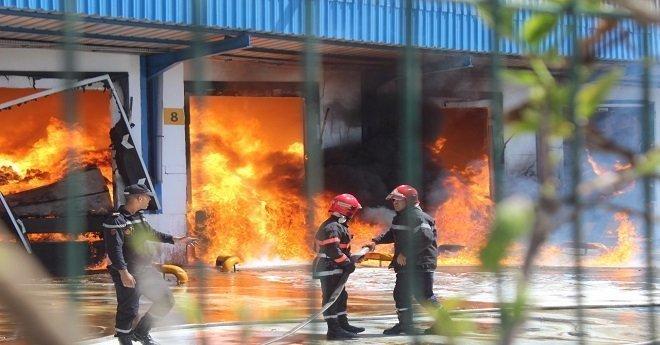 "هذه خسائر ""سنطرال دانون"" بعد حريق المحمدية"