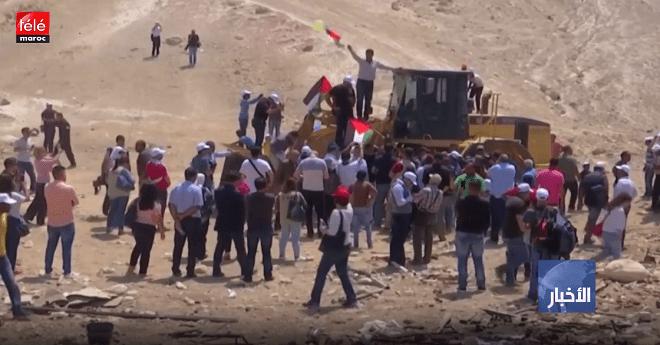 الكيان الاسرئيلي يرجئ هدم قرية خان الأحمر بالضفة الغربية المحتلة