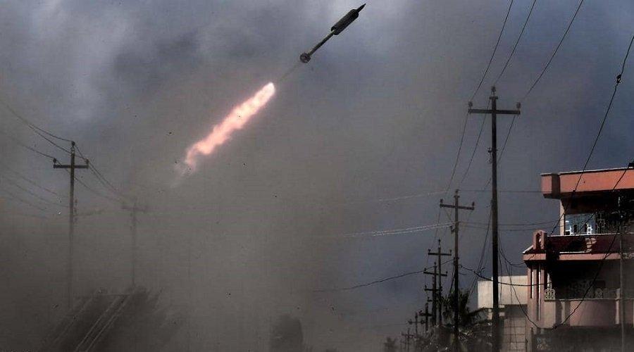 سقوط صواريخ قرب السفارة الأميركية في بغداد
