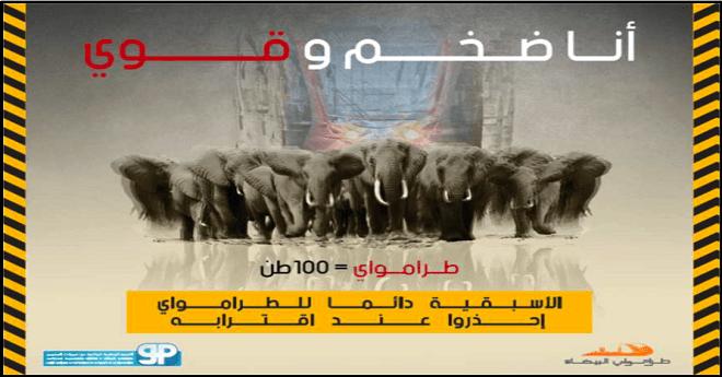 احذروا.. سرعة الترامواي كقطيع من الفيلة في أوج السباق!!