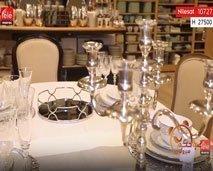 إتيكيت: فدوى الحلو تقدم مختلف الطرق لتزين الطاولة.