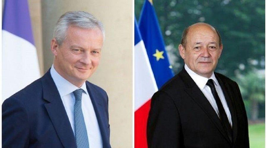 وزيرا مالية وخارجية فرنسا في الرباط لهذا السبب