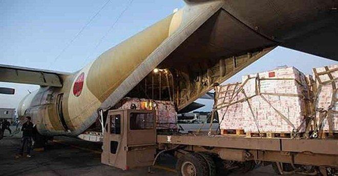 """بتعليمات ملكية .. إرسال مساعدات إنسانية إلى مدغشقر إثر إعصار """"إيفا"""""""
