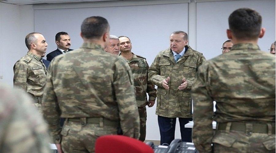 أردوغان : وحدات من الجيش التركي بدأت التحرك نحو ليبيا