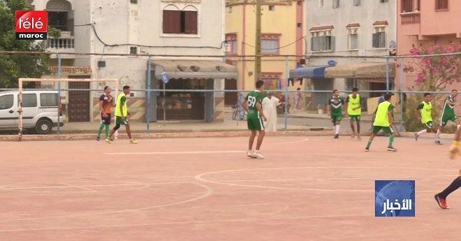 كرة القدم المصغرة.. فريق الدفاع الحسني الجديدي يعاني من مشكل غياب ملعب التداريب