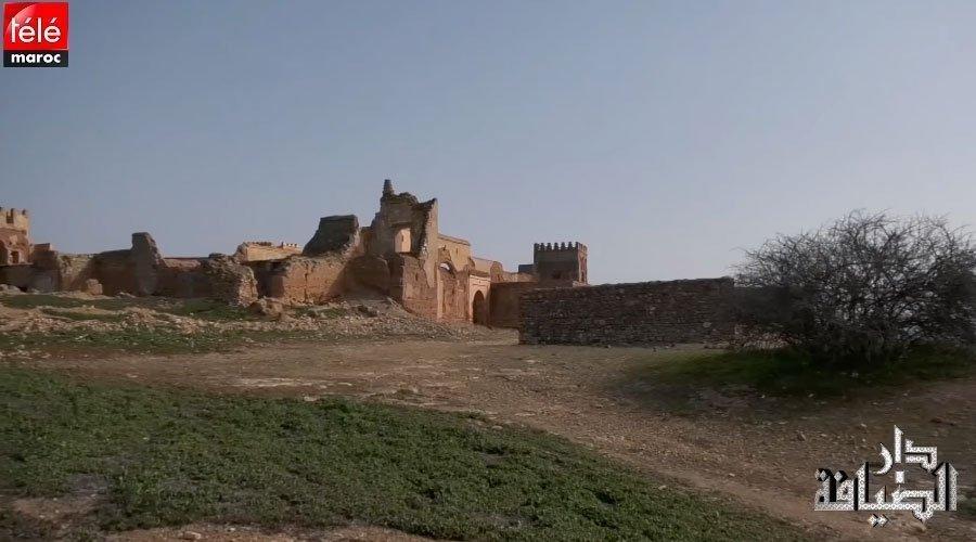 زيارة لمنطقة صخور الرحامنة و اكتشاف لدار القايد العيدي