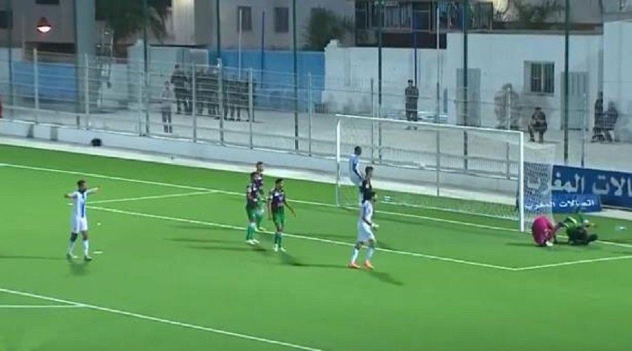 رغم الانتصار.. شباب الريف الحسيمي أول النازلين للقسم الوطني الثاني