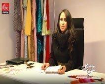 المصممة المغربية نادية الزين وحكاية نجاحها في إسبانيا