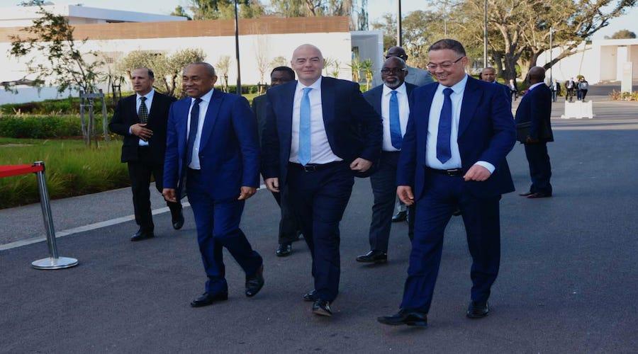 تفاصيل زيارة رئيس «الفيفا» إلى المغرب