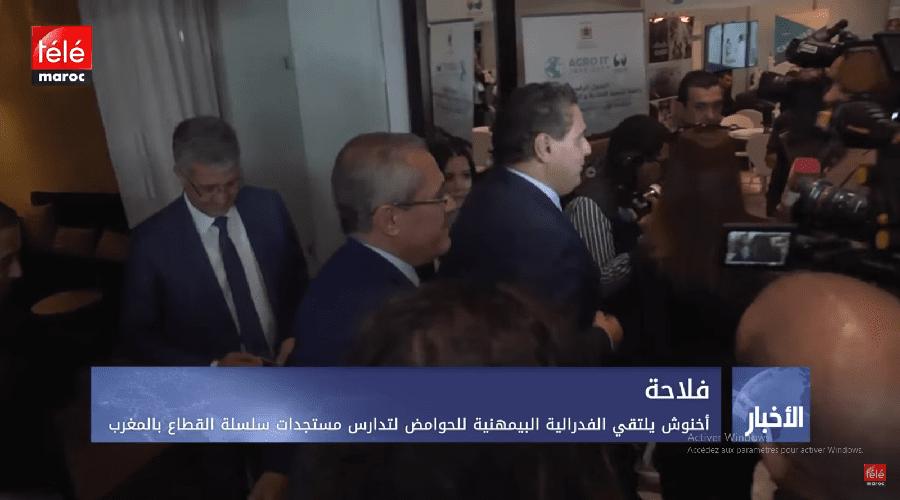أخنوش  يلتقي الفدرالية البيمهنية للحوامض لتدارس مستجدات سلسلة القطاع بالمغرب