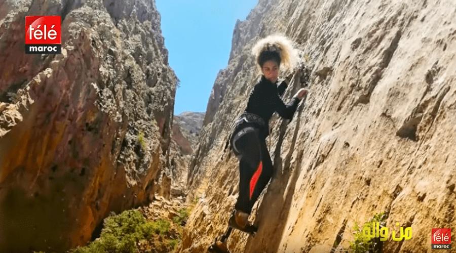 شابة استطاعت تحدي إعاقتها لتحقق حلمها في تسلق الجبال