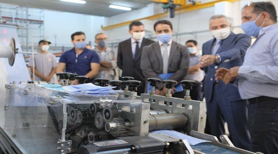 تقديم جهاز مغربي 100 في المائة لتصنيع الكمامات الواقية