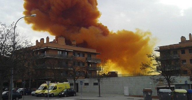 انفجار شمال غرب اسبانيا يخلف مقتل زوجين مغربيين وعشرات المصابين