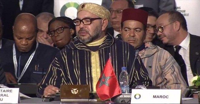 الملك محمد السادس يستقبل رئيس جمهورية أنغولا بأبيدجان
