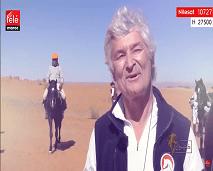 """خياّل فرنسي مشارك في """"تجوال المغرب"""".. إننا جد محظوظين بالاستمتاع بالصحراء المغربية، شكرا على الاستضافة"""