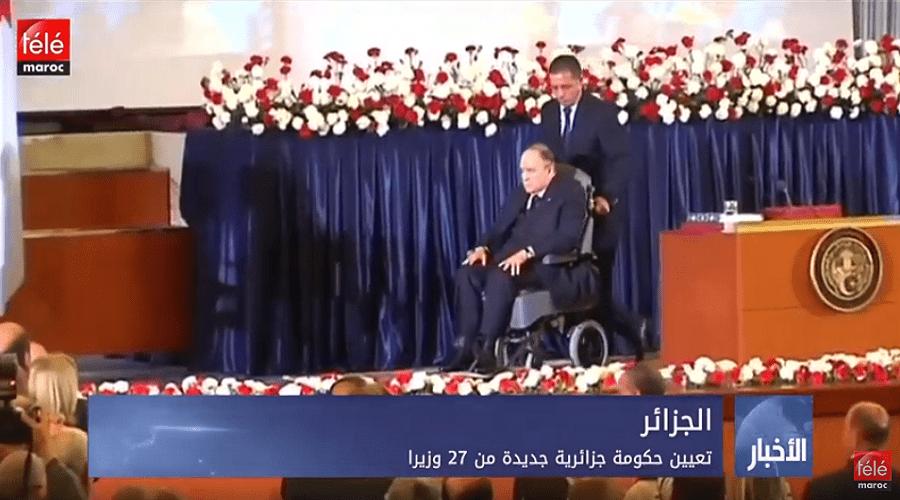 تعيين حكومة جزائرية جديدة من 27 وزيرا