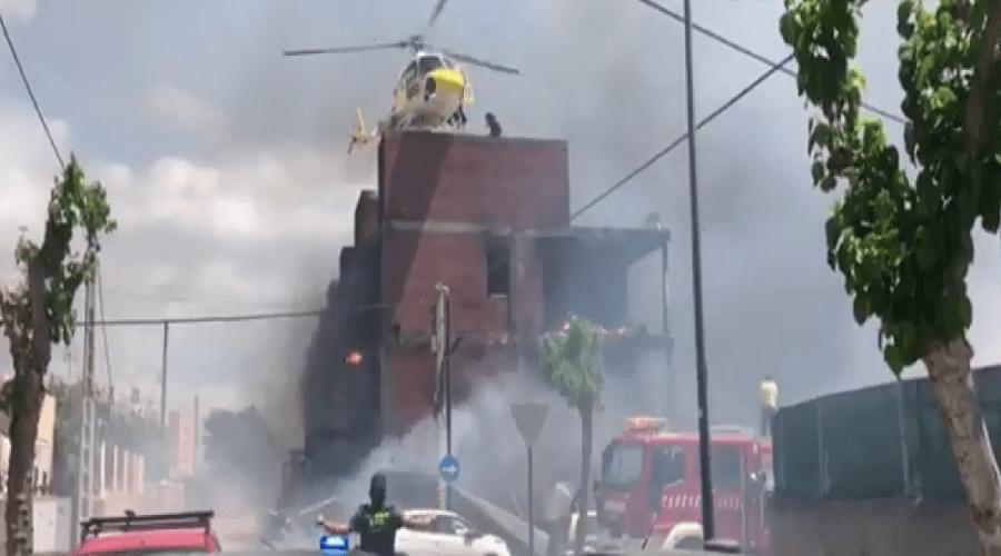 إصابة 8 مغاربة في حريق مهول بإسبانيا حالة 3 منهم خطيرة