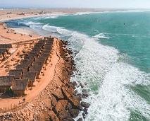 """المغرب الصحراوي يزور """"ويست بوينت"""" المشروع الايكولوجي السياحي بمدينة الداخلة"""