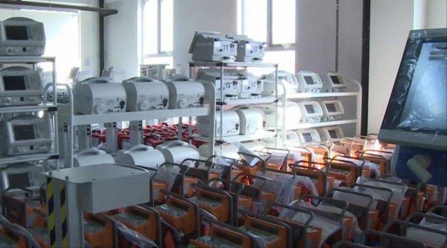 تركيا تستولي على شحنة أجهزة تنفس كانت في طريقها إلى إسبانيا