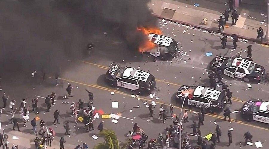 مدن أمريكية تشتغل احتجاجا على مقتل جورج فلويد
