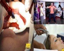 تعرفوا على اسهل طريقة لتبييض الاسنان، تمارين لتقوية الجسم،رجيم الفودماب...