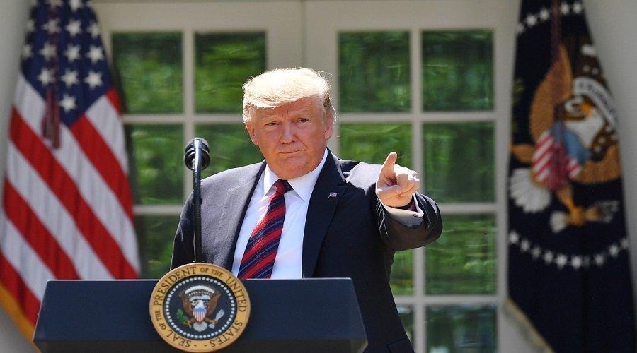 ترامب ينفي إصابة أي جندي أمريكي في العراق ويتوعد إيران