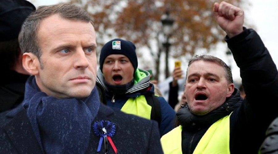 البلاد متوقفة والمواطنون في الشارع.. أين يقود ماكرون فرنسا ؟