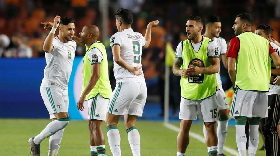 فيديو .. الهدف الأول للمنتخب الجزائري