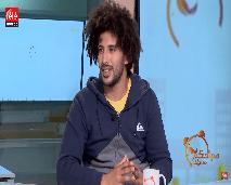 الفنان التشكيلي رضا بحراني ضيف صباحكم مبروك