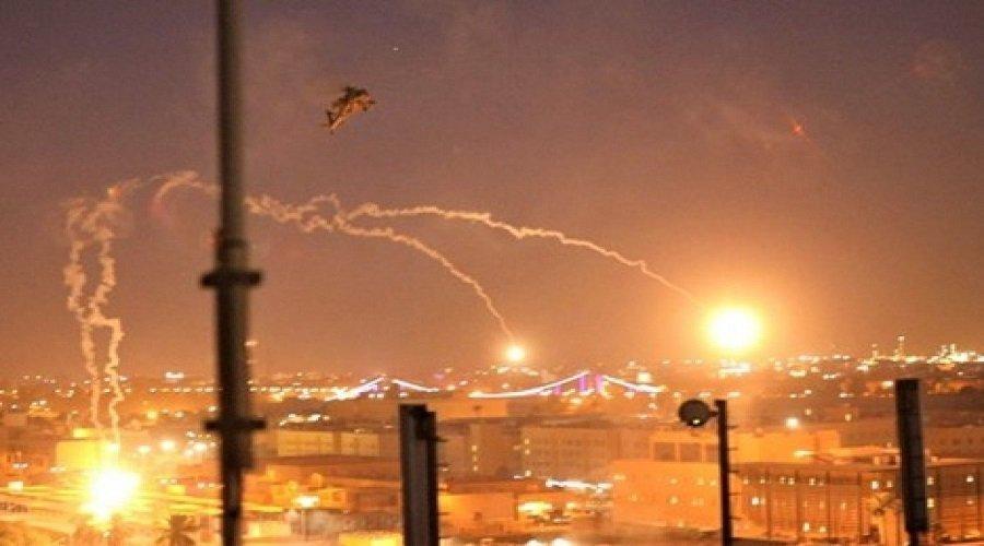 إصابة شخص في هجوم صاروخي على السفارة الأميركية ببغداد