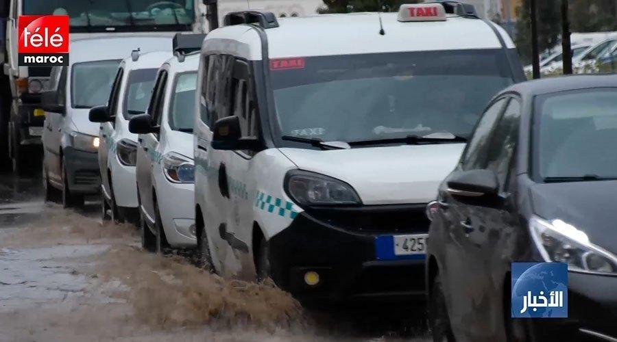 فيضانات بشوارع البيضاء بعد تعثر مشاريع لتخزين مياه التساقطات