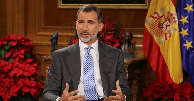 """ملك إسبانيا يطالب نواب كتالونيا الجدد بالتفكير """"بكل مسؤولية"""" و تجنب """"الفتنة"""""""
