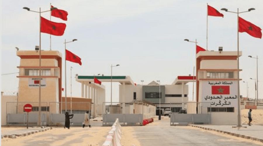 الوضع في الكركرات هادئ وحركة المرور عادية بين المغرب وموريتانيا