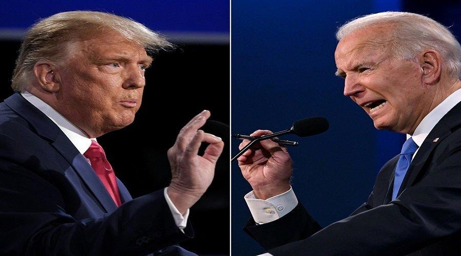اتهامات متبادلة بين ترامب وبايدن في المناظرة الأخيرة حول كورونا والفساد