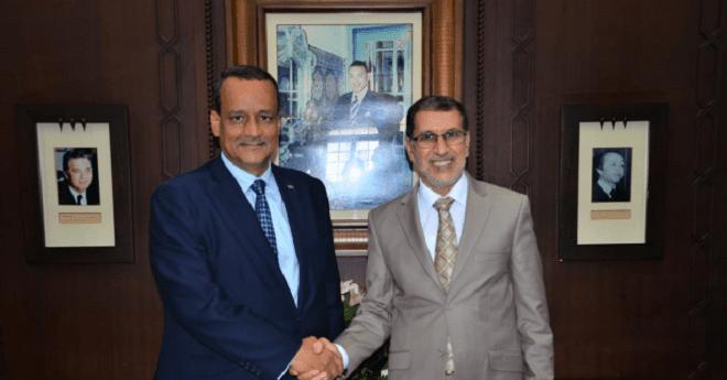 العثماني يستقبل وزير الخارجية الموريتاني