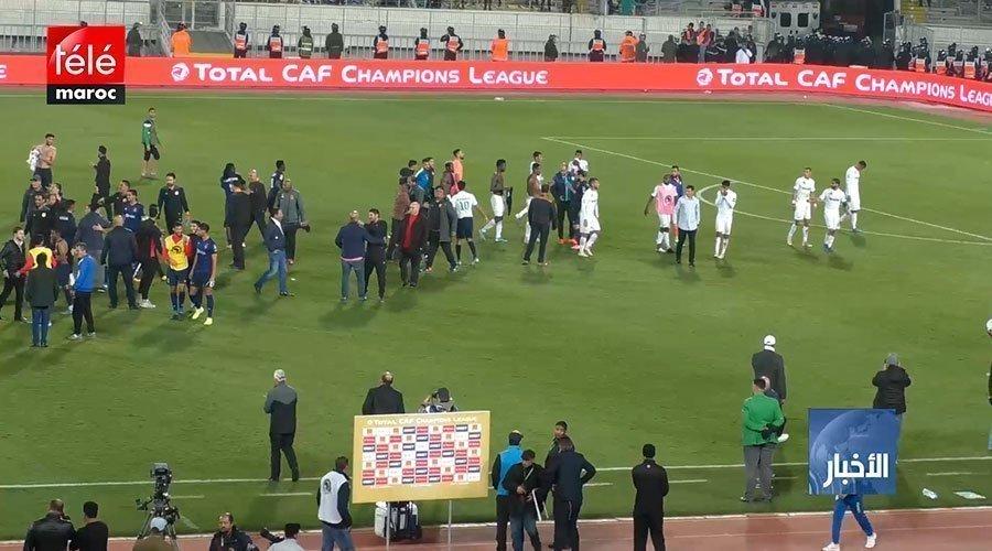 الرجاء البيضاوي يخسر مباراة الجولة الأولى من دور المجموعات أمام الترجي التونسي