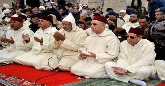إقامة صلاة الاستسقاء في كافة أنحاء المملكة المغربية