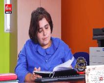 نادية.. موظفة بمركز لإعادة التأهيل تقتسم همّ الإعاقة مع الأطفال
