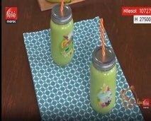 شهيوة : كيفية تحضير عصير السبانخ و المانج
