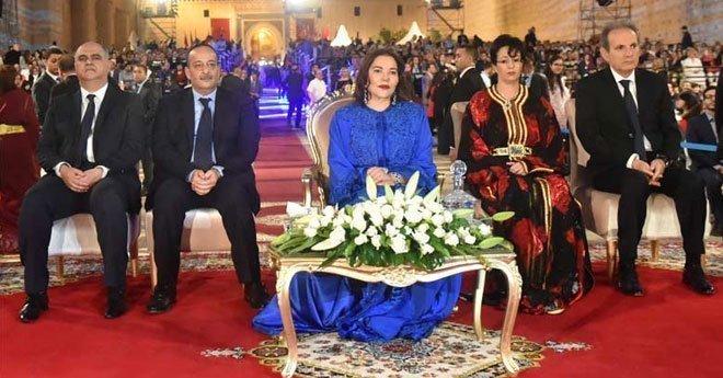 الأميرة للا حسناء تترأس حفل افتتاح الدورة الـ 24 لمهرجان الموسيقى العالمية العريقة