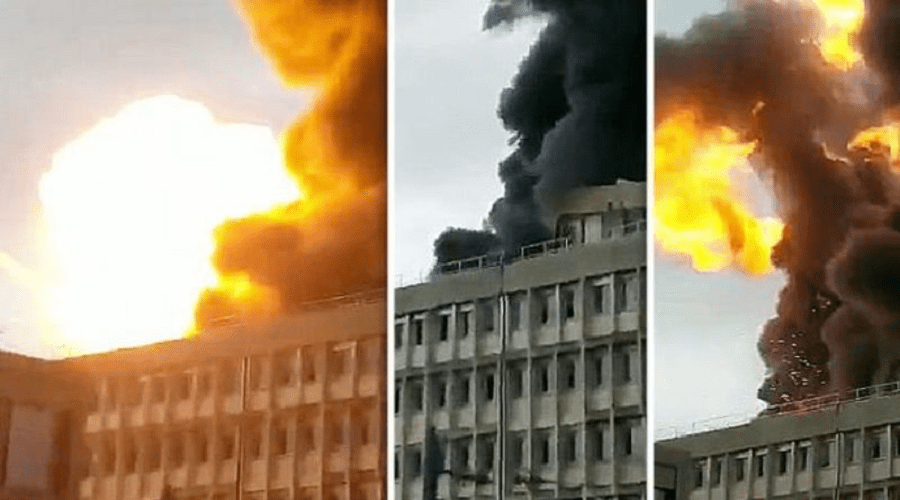 سقوط جرحى في انفجار ضخم هز جامعة ليون الفرنسية