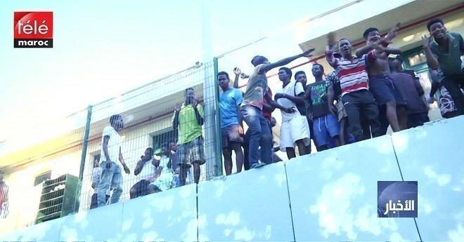 أكثر من 700 مهاجر يقتحمون الحاجز الحدودي بين المغرب وسبتة