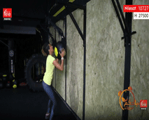 حركات رياضية بالكرة الحائطية - مع كلثوم اضمير
