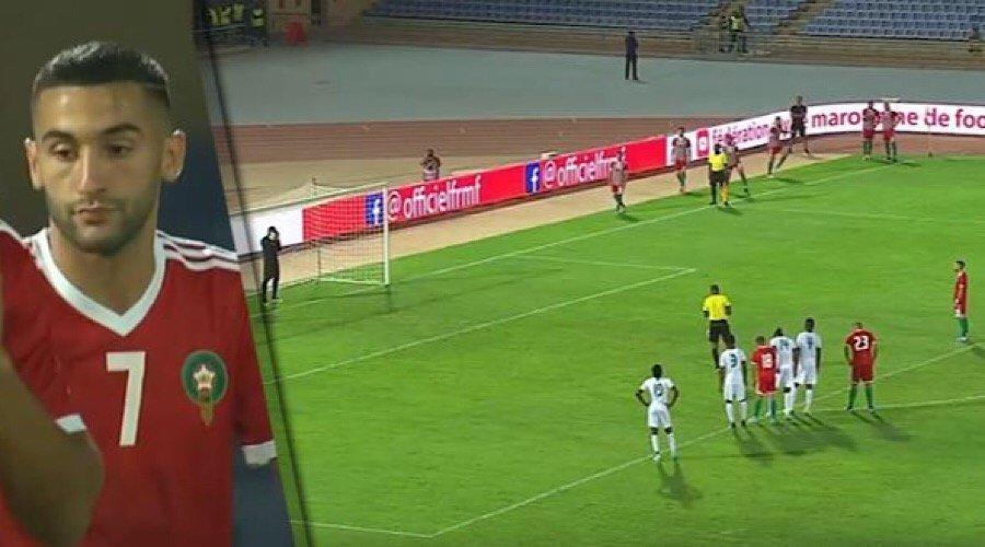 تعادل مخيّب للمنتخب المغربي في أول مباراة تحت قيادة حليلوزيتش