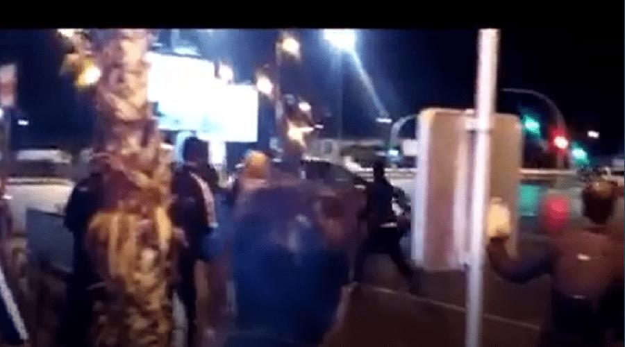 سيارة مجنونة تروع المواطنين بحي يعقوب المنصور بالرباط (فيديو)