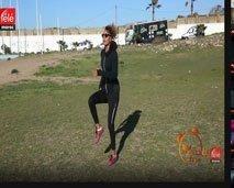 تمارين رياضية بسيطة لتقوية الجزء السفلي من الجسم مع الكوتش كلثوم أضمير