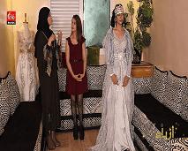 """""""أزياء"""" يسلط الضوء على المصممة المغربية الأولى عربيا في تصميم القفطان المغربي رقية سبيري"""